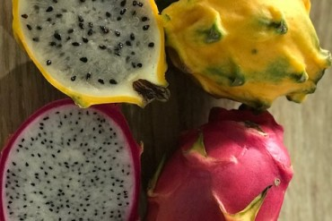 pitahaya yellow and red